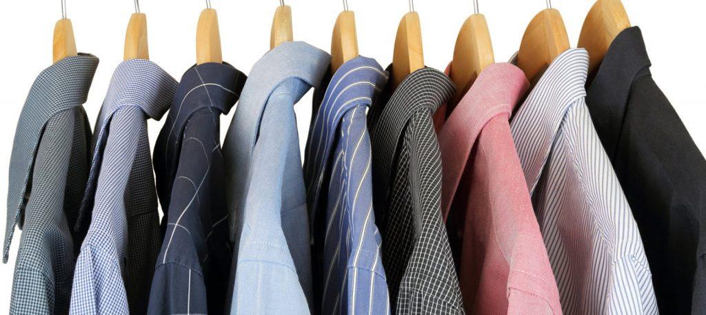 خشک شویی لباس ها