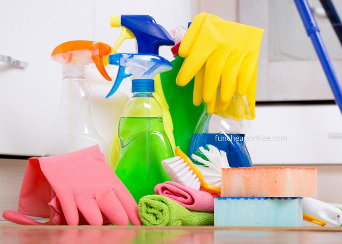 تمیز کردن خونه